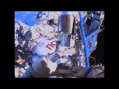 ▶UFO Seen on livecam ISS During Space Walk 8/16/2013 ▶ When you make the video FULL SCREEN MODE, to watch, you will see that not only is there a UFO in the lower right corner...but it is white, triangular in shape and has a tentacle like arms behind it. You often see UFOs on the live cam almost daily, but to catch one with these jellyfish-like appendages...I've never seen that before. #Aliens #ufo #et #ovni #nasa #space #universe #iss