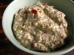 Raw Vegan Spiced Apple Chia Porridge made with Almond Milk. Liver cleansing raw food diet recipes for a healthy liver. Learn how to do an advanced liver flush protocol https://www.youtube.com/watch?v=UekZxf4rjqM