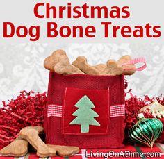 Christmas Dog Bone Treats Recipe