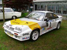 Opel Manta B 400 - Rallyefahrzeug von Opel in den 80er Jahren - Gruppe B