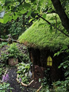 Tour the West of Ireland from Bruff, County Limerick.  Fairy garden at Terra Nova, Bruff, County Limerick. Ireland travel tips | Ireland vacation | IrelandFamilyVacations.com