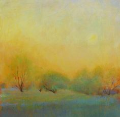 rebirth by Loriann Signori Oil ~ 12 x 12