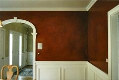 Dana Herbert : Faux Painting : High-gloss red dining room walls Italian Restaurant Decor, Dining Room Paint, Faux Painting, Interior Paint, Paint Ideas, High Gloss, Home Improvement, New Homes, Commercial