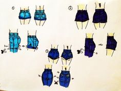 How to cut pants and convert them to shorts.