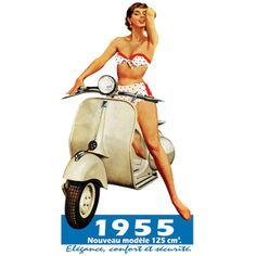 Exemple de publicité en 1955
