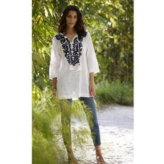 Deco Embroidered Tunic. The Company StoreEmbroidered ... 44d28b5bc