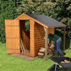 Shed for the campsite - Home Is Where We Park It