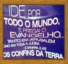 PAZ DO SENHOR TEMOS ESTUDOS SOBRE EVANGELISMO E MISSÕES NO BLOG www.avivamentonosul.blogspot.com