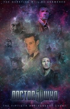 Doctor Who - 50th anniversary - I CANNOT wait!!!