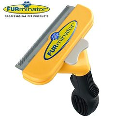 Long Hair deShedding Brush for Large Dogs 5190 Lbs 4 Inch Edge Blade FURminator Tool Comb ** Check out this great product.