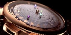 24 Of The Most Creative Watches You Will Ever See- Astronomical Watch, shows current position of planets.