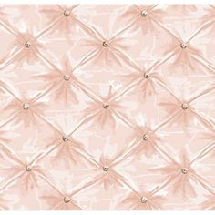 Tufted cotton sheeting by Anna Griffin // I want to apply this as wallpaper in my upstairs bath!