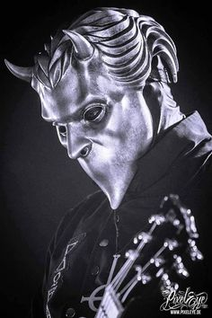 A Nameless Ghoul, Omega, from Ghost. Such a great band with an amazing throwback sound. Band Ghost, Ghost Bc, Ghost Banda, Music Rock, Ghost And Ghouls, Ghost Stories, Cthulhu, Great Bands, Sexy Tattoos