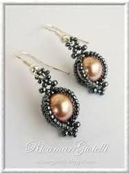 Резултат слика за schéma collier en perles