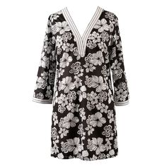 Women's Plus Size Cover-up from Peppermint Bay - Saint Martin Tunic