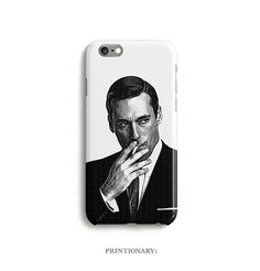 Case Don Draper Phone Mad Men iPhone 6 6s 5 5s 5c 4 by Printionary
