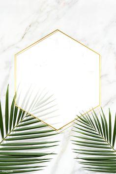 premium psd of Hexagon golden frame on a marble background 599875 Hexagon golden frame on a marble background Flower Backgrounds, Wallpaper Backgrounds, Iphone Wallpaper, Tropical Background, Art Background, Greenery Background, Iphone Hintegründe, Art Gallery Wedding, Wedding Art