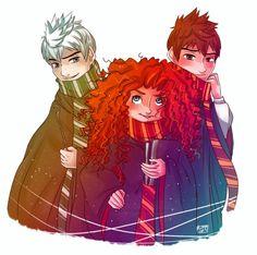 Jack...Jack y... Merida