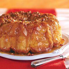 overnight caramel pecan bread