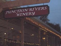 Junction Rivers Winery, Winery, Junction Texas, Junction wine The Claret is fabulous!