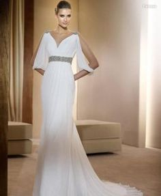 Vestidos de novia de estilo griego | Preparar tu boda es facilisimo.com