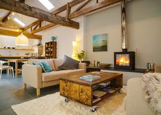 Cosy cottage in rural Herefordshire, sleeps 4 Stable cottage- Barn Conversion Interiors, Home Fireplace, Traditional Interior, Cottage Interiors, Open Plan Living, Beautiful Bathrooms, Stables, Cottage Style, Home Interior Design
