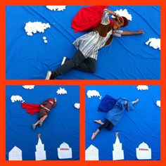 Faith in God activity. Scripture super heroes, the kids got to tell everyone who their favourite person in the scriptures is and why. Then we had fun with a photo shoot lol