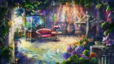 Garden by LissNoir on DeviantArt
