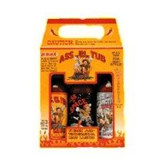 Gag Gift Idea - Ass in the Tub Hot Sauce Gift Set - Sample 3 of the hottest sauces on this planet. Ass in the Tub, Ass in...