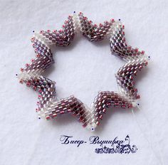 Russian.  Pictures are thorough ~ Seed Bead Tutorials