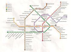 Vienna, Line Chart, Map, Human Settlement, Cards, Maps