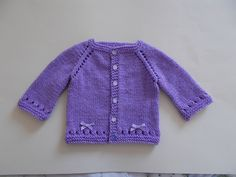 Maxine Baby Cardigan Jacket - free pattern by marianna mel