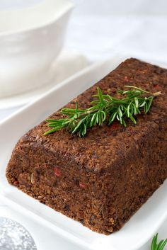 lentil loaf with walnuts - vegan, gluten-free