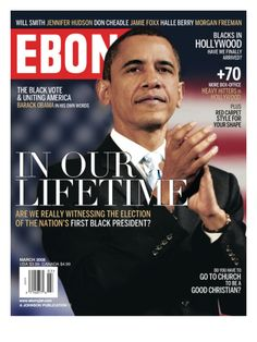 Ebony Magazine - March 2008