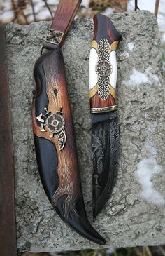 knife making metal Cool Knives, Knives And Swords, Pretty Knives, Unique Knives, Lame Damas, Trench Knife, Beil, Knife Art, Best Pocket Knife