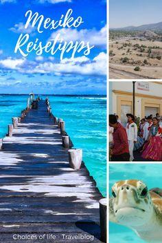 Mexiko Reisetipps | Überblick über das Land | Mexiko ist vielfältig, hat viel zu bieten und ist für jeden Reisetyp geeignet. Tolle Strände, beeindruckende Ausgrabungsstätte, begeisternde Kultur und Lebensart der Einheimischen... | Urlaub in Mexiko, Reisetipps für Mexiko