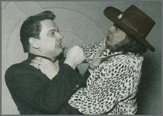 Stevie Ray Vaughan and Jimmie Vaughan deciding who should go on stage first Stevie Ray Vaughan Guitar, Steve Ray Vaughan, Jimmie Vaughan, Eric Clapton, Music Love, Rock Music, Brotherly Love, Blues Rock, Music Stuff