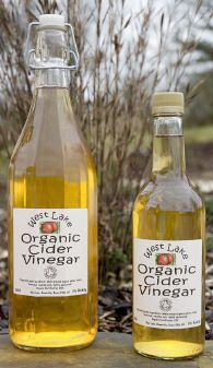 Wonder what the rules are for vinegar bottling in Illinois... West Lake Organic Farm, Devon.