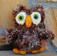 owl pattern for Knifty Knitter loom