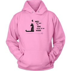 Angels With Whiskers - Hoodie