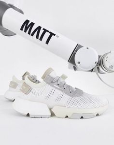 premium selection e9eb7 b1432 adidas Originals Pod-S3.1 Sneakers In Triple White at asos.com
