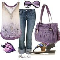 Cool,Casual & Purple dont really loke all the gems on the shoes