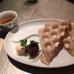メルシーダイニング - 料理写真:玄米餅デザート メルシ-ダイニング - Vegetarian & Vegan Restaurant  :酵素玄米