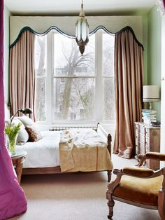 Piso en Londres: dormitorio