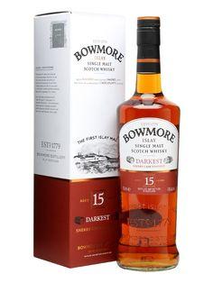 The Whisky Viking: Bowmore 15 yo, Darkest, 43 %