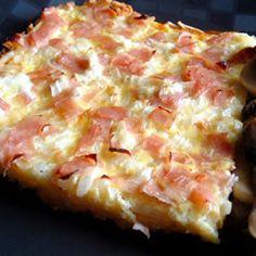 Ham and Cheese Breakfast Quiche Allrecipes.com