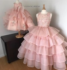 Fancy Dresses For Little Girls ( Wedding Dresses For Kids, Baby Girl Party Dresses, Girls Formal Dresses, Little Dresses, Little Girl Dresses, Kids Blouse Designs, Kids Gown, Baby Dress Patterns, Kids Frocks