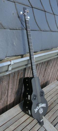 Jack Daniel's Box Guitar