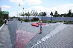 Hortecultural world exposition area by RMP Stephan Lenzen landschaftsarchitekten