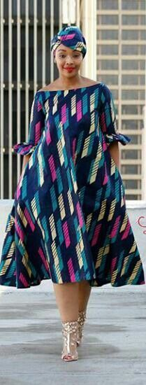 Beautiful free flow dress #Africanfashion #beautydresses